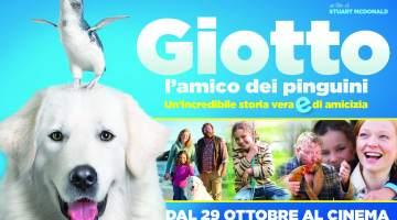 Giotto l'amico dei pinguini: il film tratto da una storia vera, dal 29 Ottobre al cinema.
