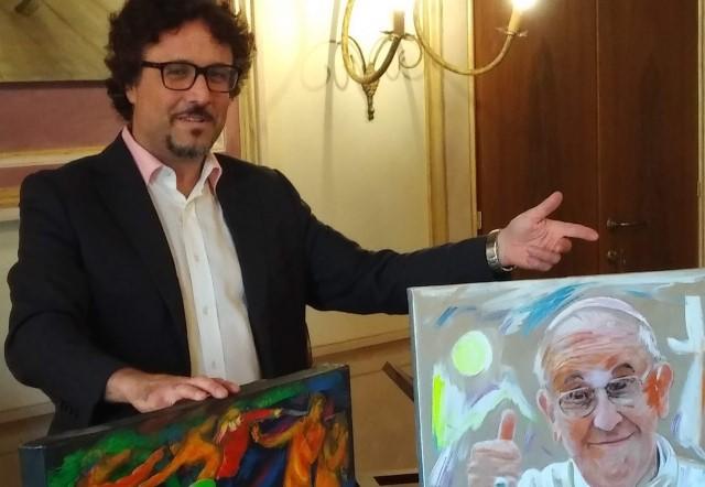 Luminescenze Pisane mostra Mangone - Prof Corsi