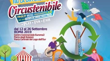 Circustenibile 2019: riciclo e sostenibilità per grandi e piccini (programma)