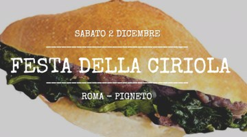 Festa della Ciriola: 2 Dicembre al Pigneto a Roma