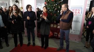 """Natale a Roma: inaugurato il Ragusa off con il grande market natalizio """"The Christmas City"""""""