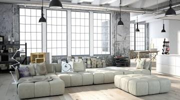 Come arredare casa in stile industriale o loft: le ultime tendenze