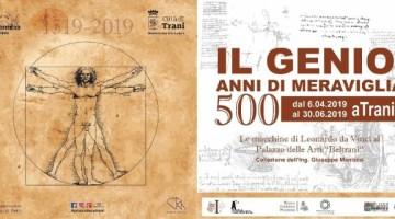 """Mostra tributo a Leonardo da Vinci: """"Il Genio. 500 anni di Meraviglia"""" (info)"""