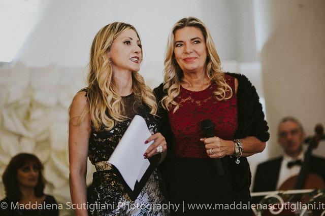Iolanda Pomposelli e Manuela Maccaroni (madrina della serata)