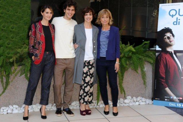 Paola Cortellesi, Eduardo Valdarnini, Micaela Ramazzotti, Cristina Comencini