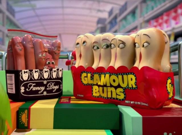 sausage party -vita-segreta-di-una-salsiccia-trama-trailer-recensione