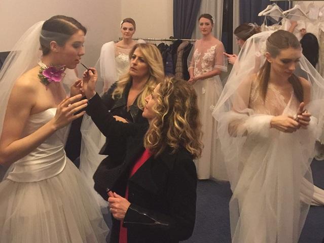 Wedding Fashion Night al The Church Palace - il backstage con Francesca Mura