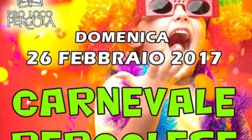 Carnevale Pergolese: carri, gruppi mascherati, musica e divertimento