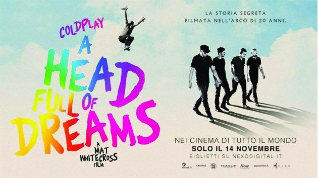 Coldplay A Head full of dreams film concerto