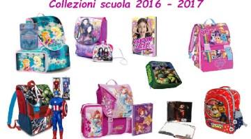 Collezioni Scuola 2016/2017: tutte le novità e i prezzi di zaini, diari e astucci