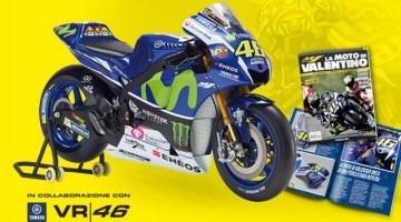 Costruisci con De Agostini la moto di Valentino Rossi