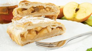 Strudel di mele light: ricetta senza zucchero