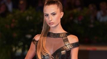 Red Carpet 75. Mostra del Cinema di Venezia: Abi Nader veste la movie blogger Nicole Macchi