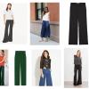 Pantaloni a palazzo: come abbinarli e a chi stanno bene