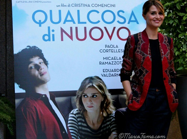 """Paola Cortellesi (conferenza stampa """"Qualcosa di nuovo"""")"""