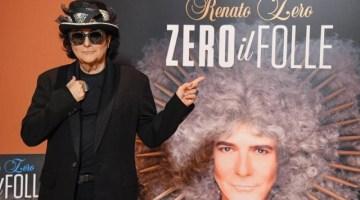 Zero il Folle: presentato a Roma il nuovo disco di inediti di Renato Zero