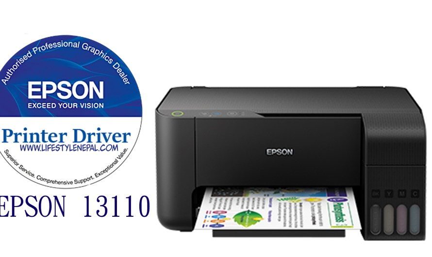 Epson L3110 Driver, Price in Nepal With Full CD Driver