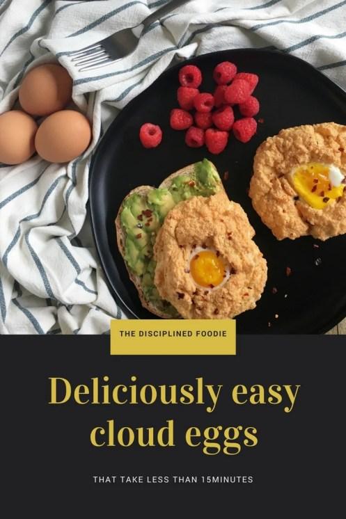 Deliciously easy cloud eggs recipe