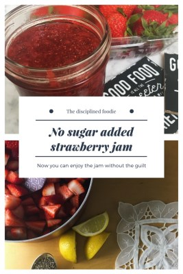 no sugar added strawberry jam recipe with chia seeds