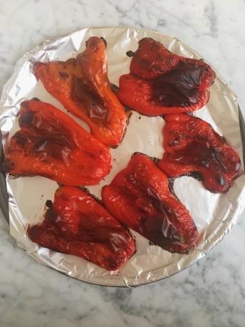 Roasted bell pepper image
