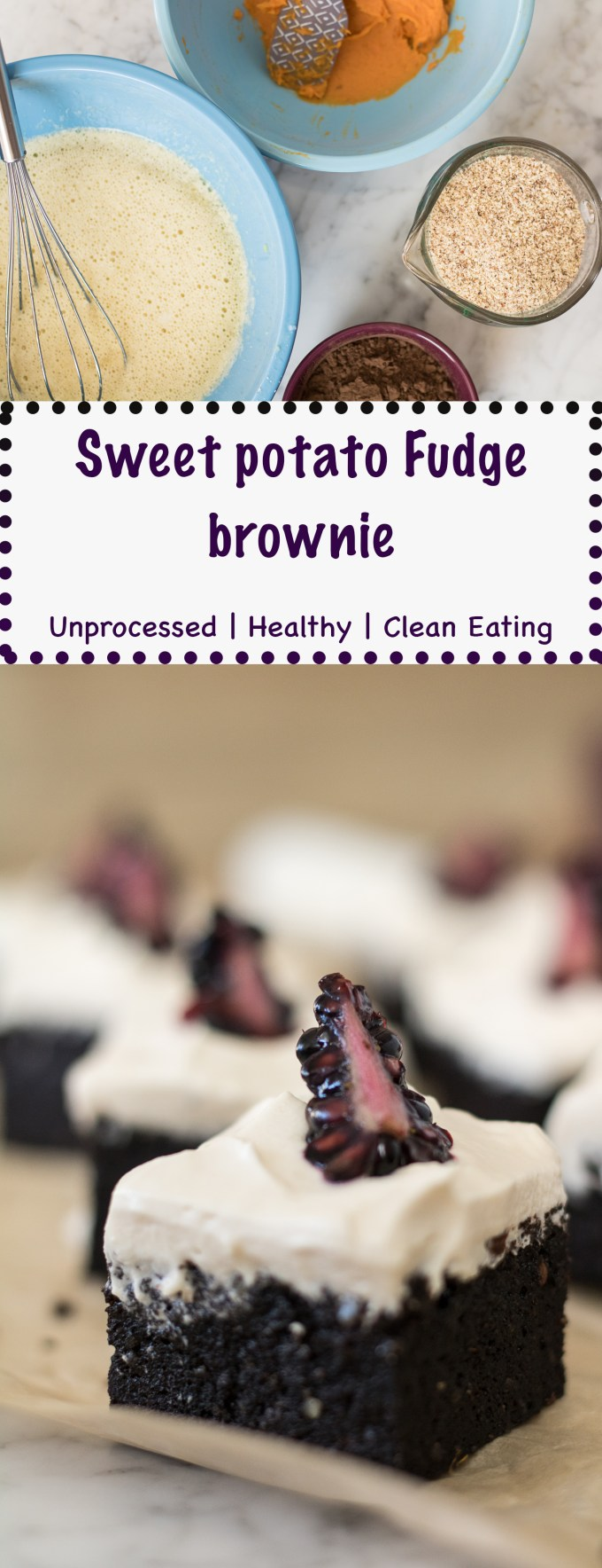 make sure to pin this awesome sweet potato fudge brownie on pinterest
