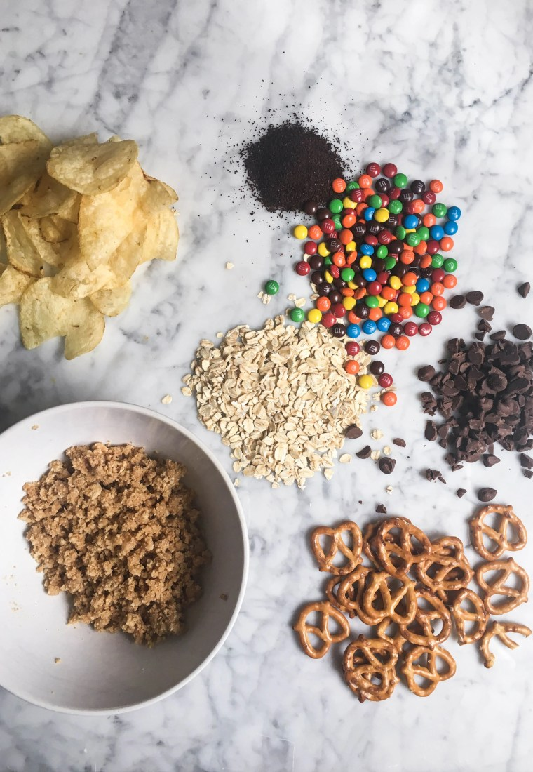 Momofuku|Milkbar compost cookie recipe with M&M's