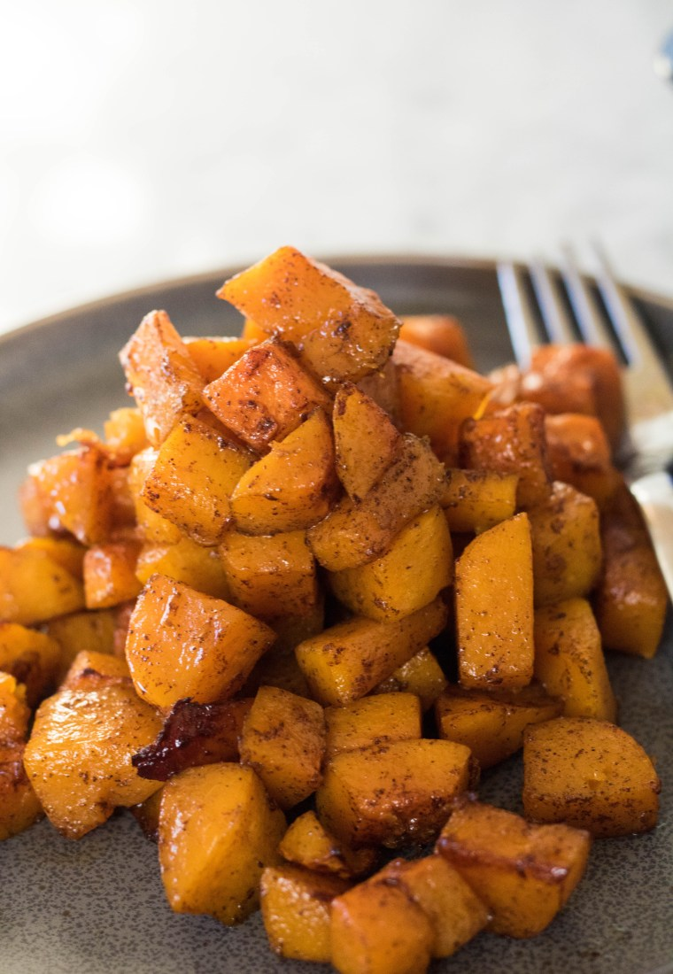 Effortless Honey Roasted Butternut Squash for 2!