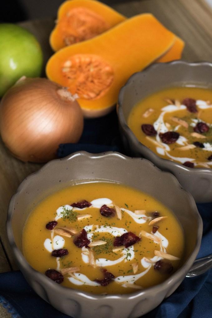 delicious butternut squash soup