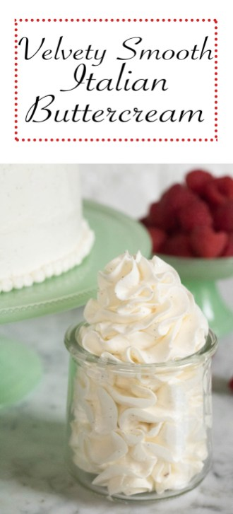 Italian meringue buttercream recipe