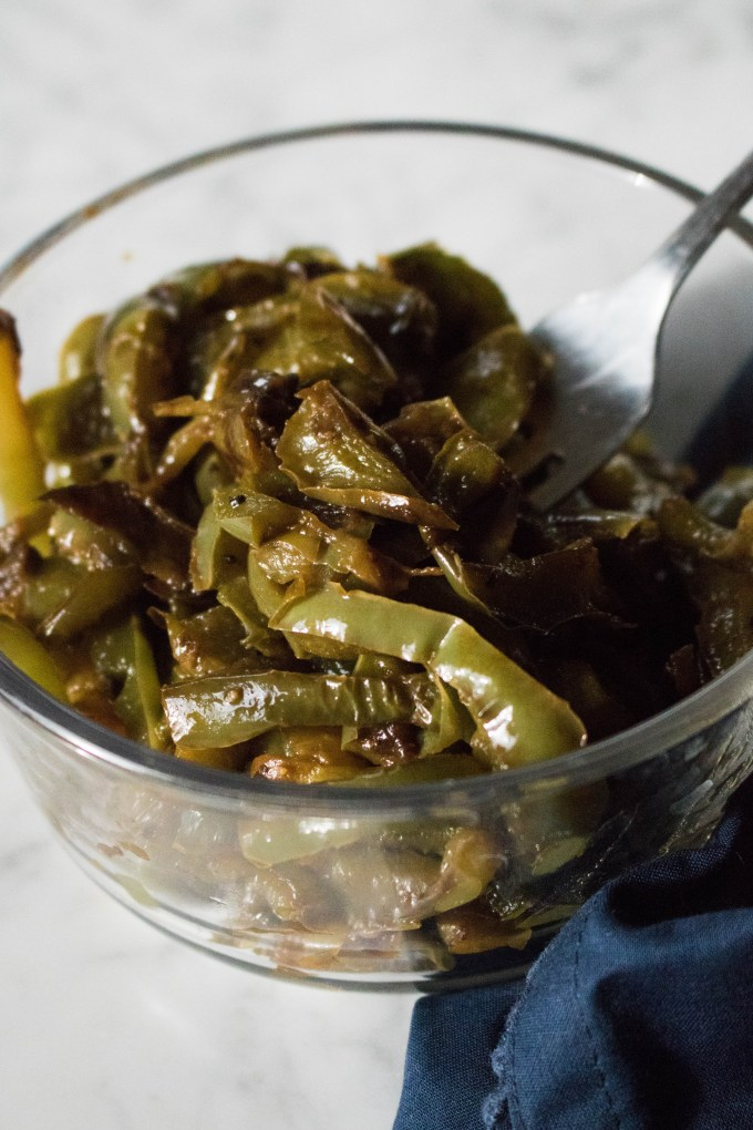 Caramelized Bell Peppers recipe