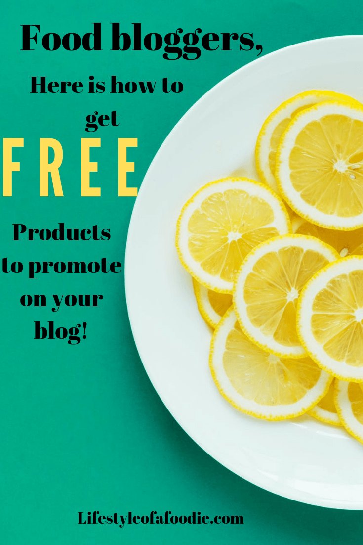 How to get FREE stuff as a beginner food blogger!!