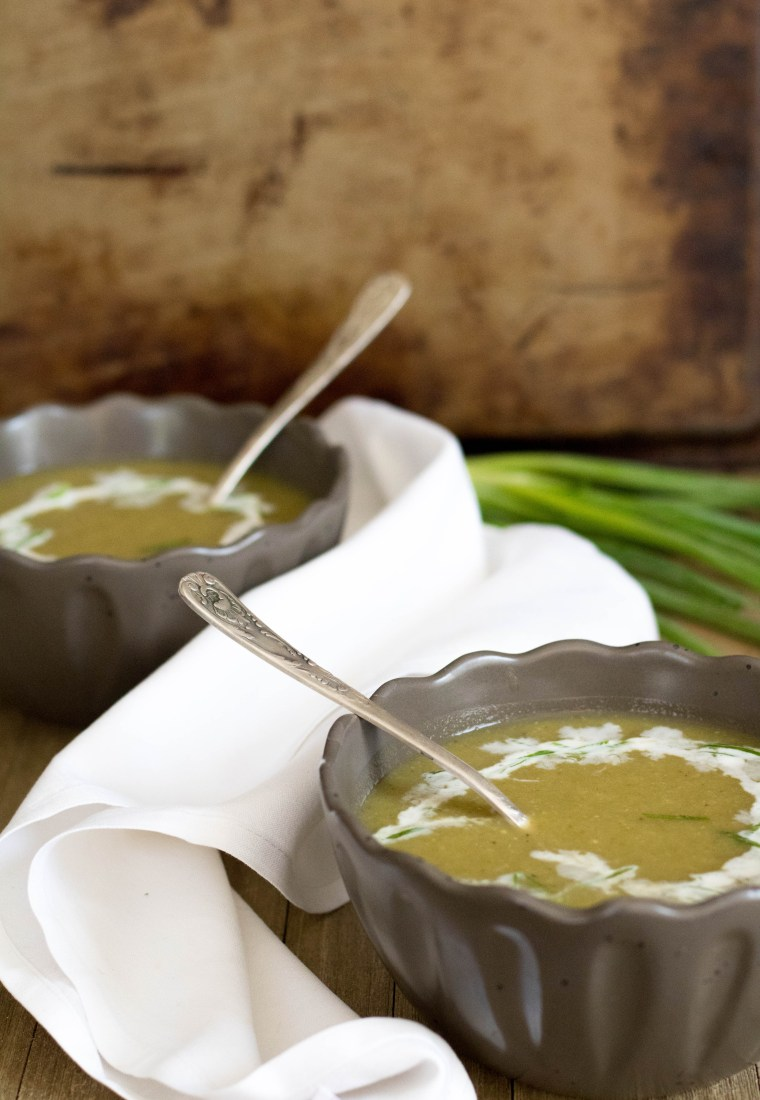 4-ingredient Mexican squash soup