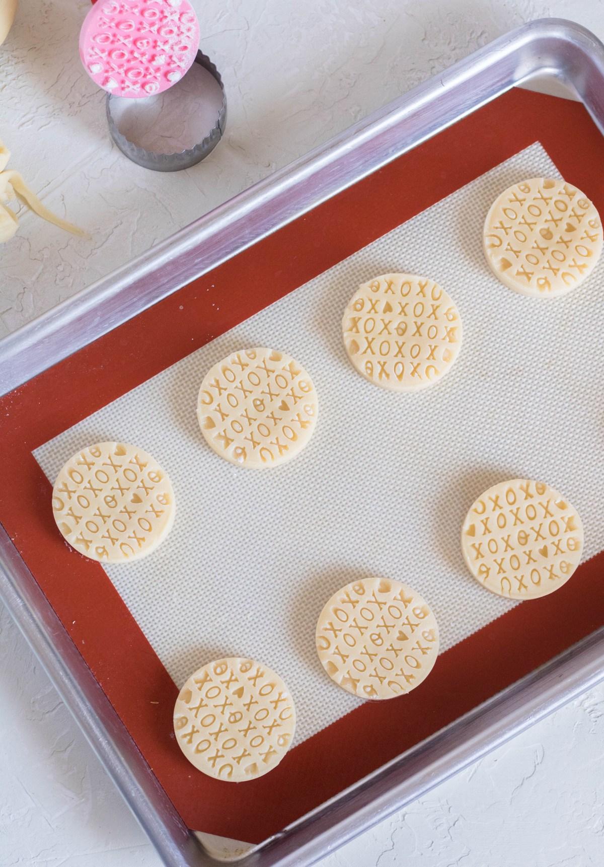 shortbread cookies for freezer