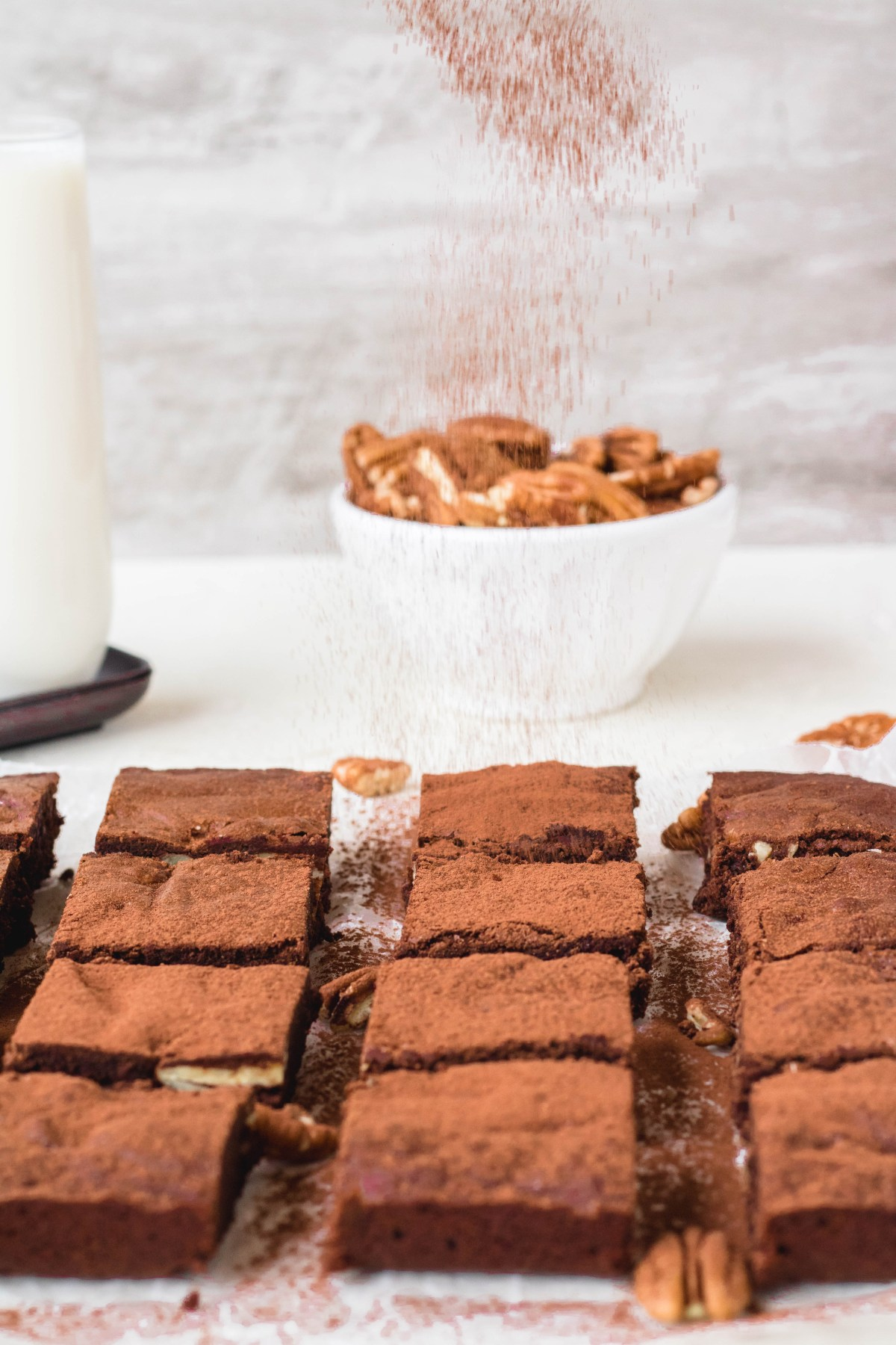 the easiest cocoa powder brownies ever