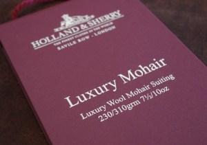 luxurymohair|holland&sherry