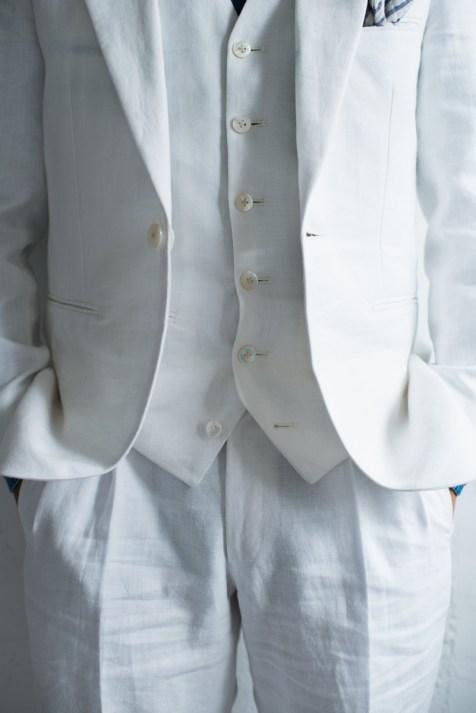 ハワイやグアムなどのリゾートウェディングに最適なリネン素材の新郎衣装|lifestyleorder