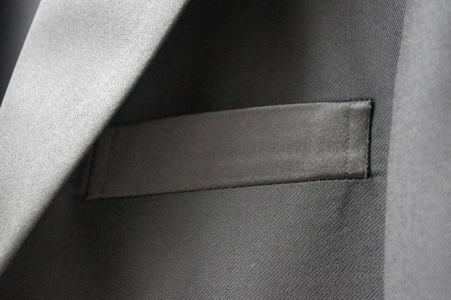 タキシード,胸ポケット