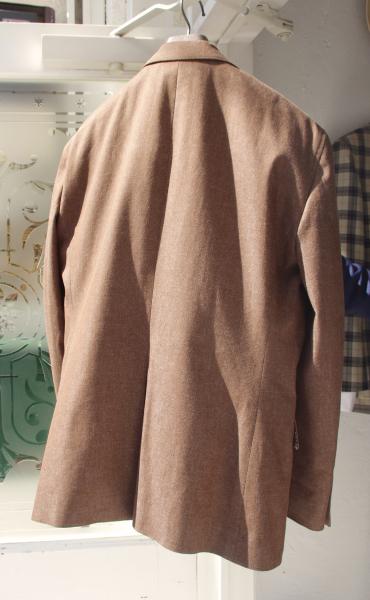 デニムオーダースーツ|バックスタイル