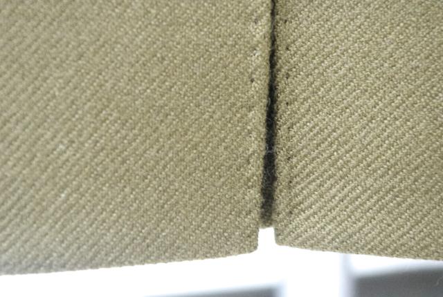 カシミヤジャケット|ボックスベントステッチ