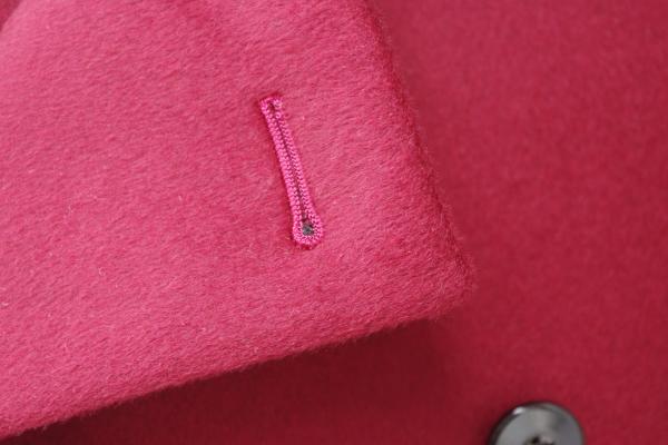 オーダーメイドコート|ボタンホール