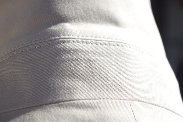 オーダーステンカラーコート|衿バックスタイル