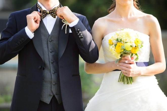 小笠原伯爵邸 結婚式のタキシード