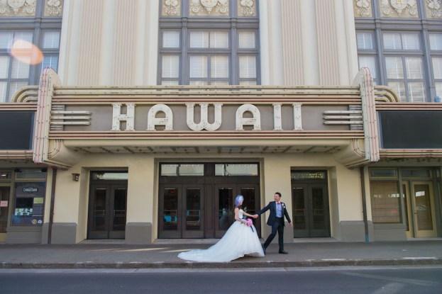 ハワイ|セントラルユニオン大聖堂|結婚式のタキシード