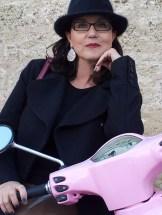 pink motorbike
