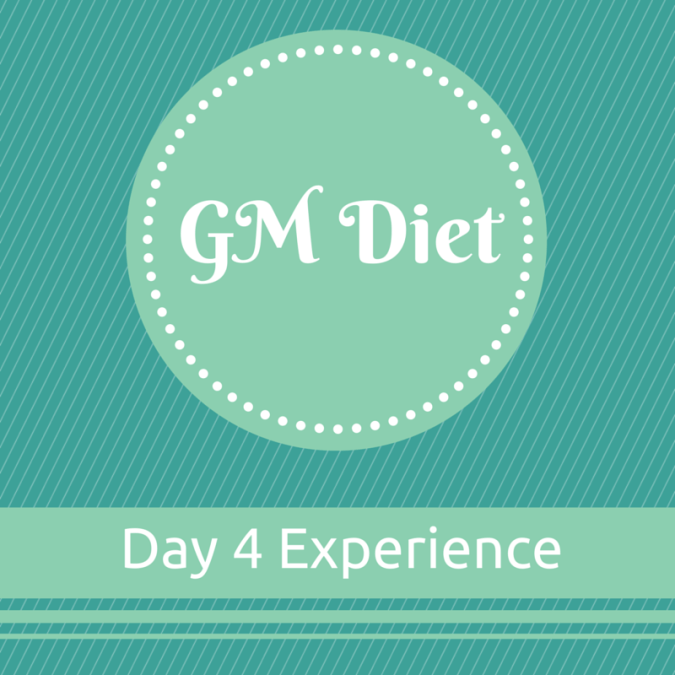 Vegetarian Indian GM Diet Day 4