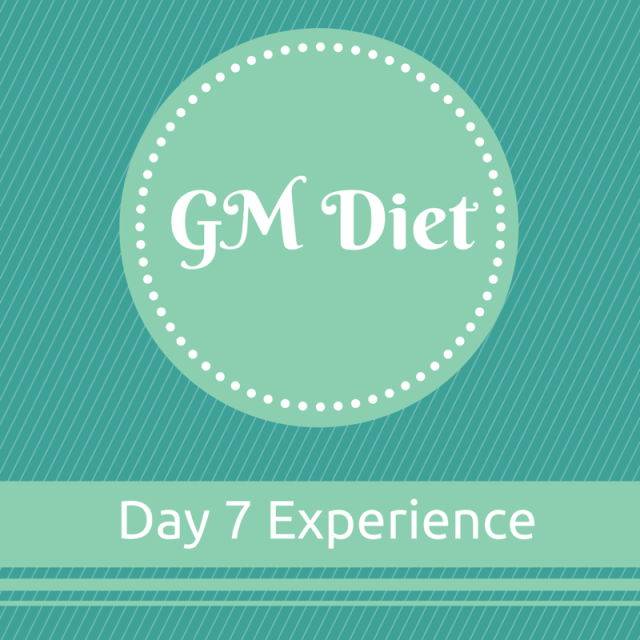 Vegetarian Indian GM Diet Day 7