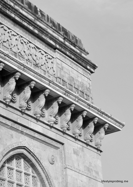 Black & White Photos of Sculpture, Statues & Carving Gateway of India, Mumbai, India