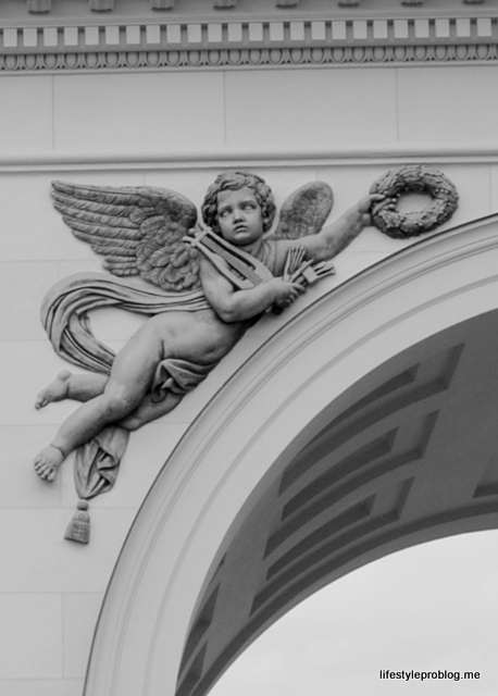 Cherub, Winter Palace, Munich