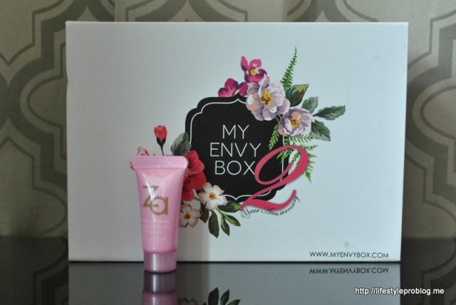 My Envy Box October 2015 Za Total Hydration Amino Mineral Refreshing Gel