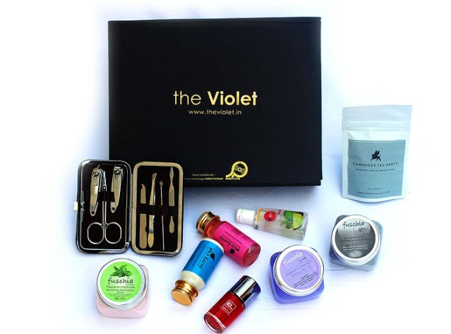 The Violet Box Jan 2017